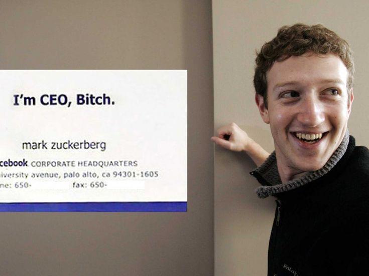 Zuckerberg Business Card Pin Auf Grafikdesign Did Mark Zuckerberg