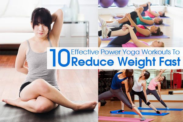 Effective Power Yoga Workouts To Reduce Weight Fast