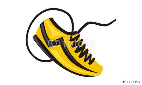 Sport Shoes Icon Buy this logo template now only at the lowest price!!! #Vector #logo #Template #LogoCheapestPrice #icon #Fotolia