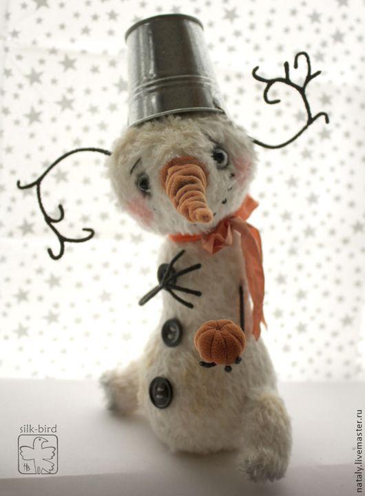 Коллекционные куклы ручной работы. Ярмарка Мастеров - ручная работа. Купить Странные мысли в его голове. Handmade. Белый, смешной