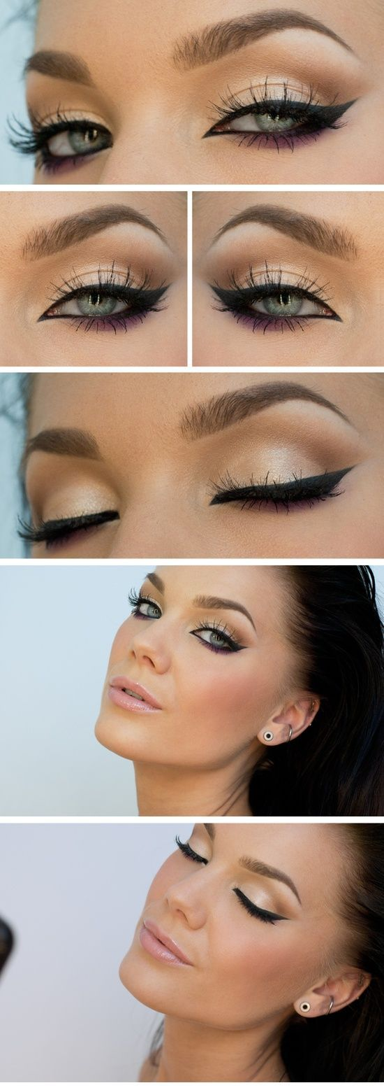 Anyone who can do eyeline like this I consider to be a genius.