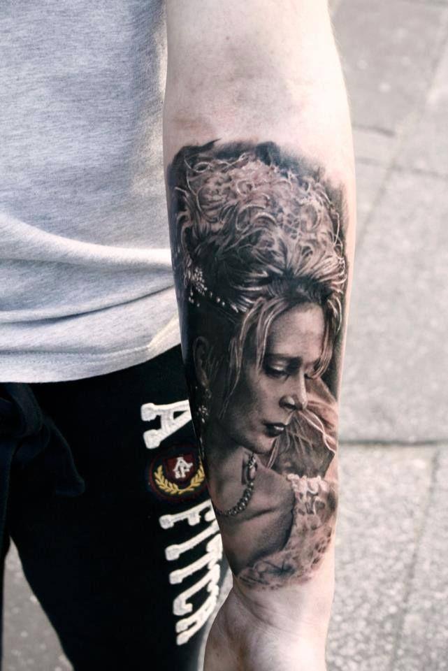 Tattoo by samuel potucek at iron ink tattoo studio in for Mobile tattoo artist