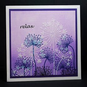 Eileen's Crafty Zone: Lavinia Stamps, PanPastels and a Sweet Poppy Stencil