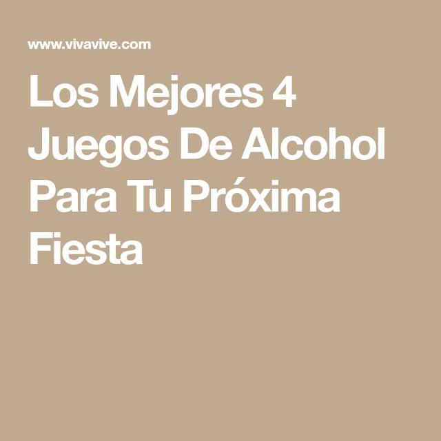 Los Mejores 4 Juegos De Alcohol Para Tu Próxima Fiesta
