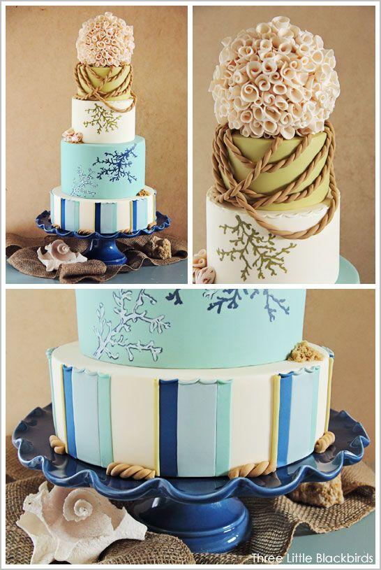 ^^: Beaches Cakes, Cakes Parts, Cakes Torta, Beach Cakes, Beach Weddings, Wedding Cakes, Cakes Stuff Ideas, Cakes Spectacular, Beaches Wedding