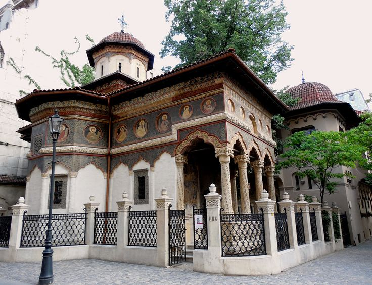 Stavropoles Monastery / Old Town / Brancovenesc Style