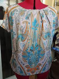 Resultado de imagen para patron blusa sencilla
