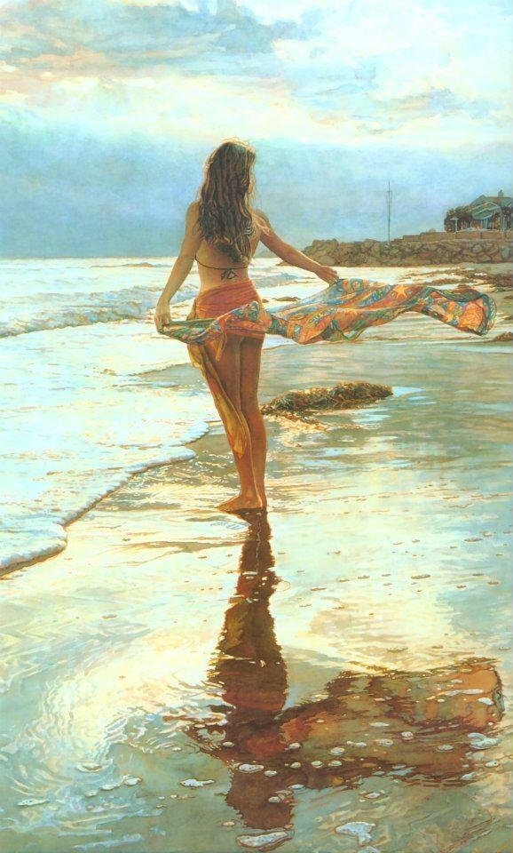 Steve Anke: Oil Paintings, Watercolor, Ocean Beaches, Steve Hanks, Ocean Breeze, Artiststev Hanks, Hanks Art, Oceanbreeze, Artists Steve