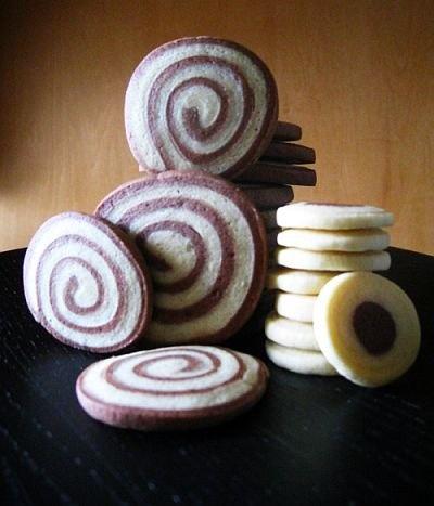 spiral icebox cookies
