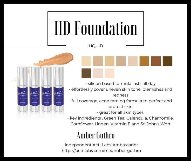 HD liquid foundation #makeup #beauty #actiamber #skincare
