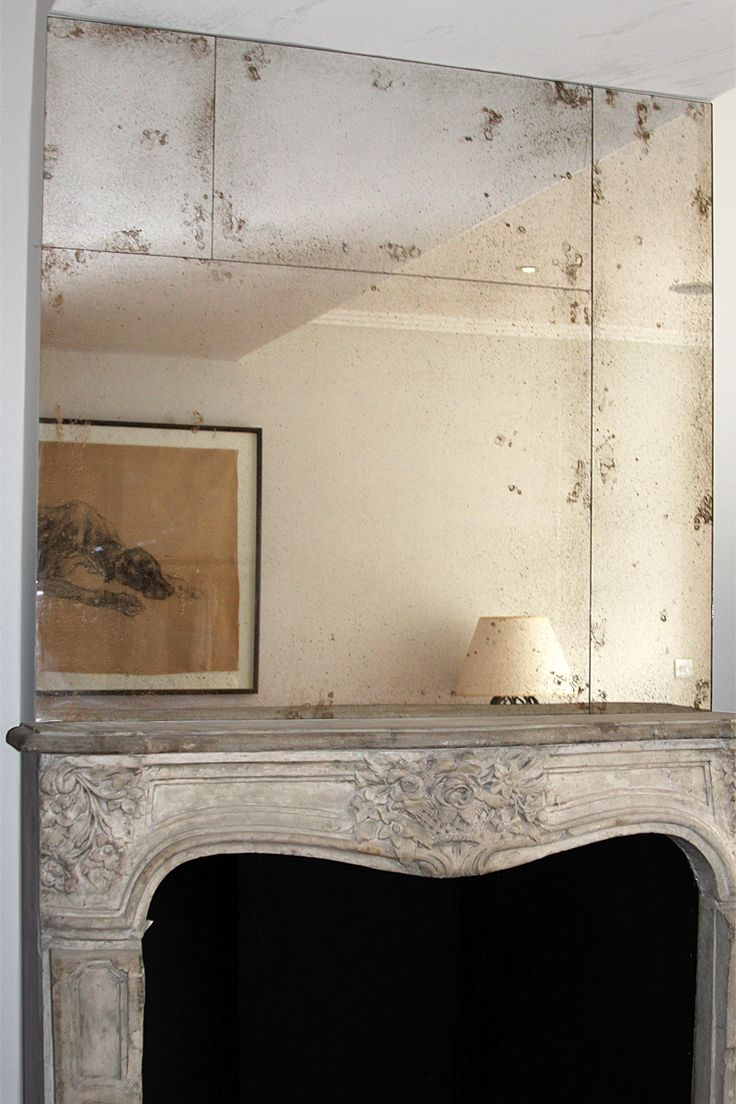 Mondrian style overmantel installation of Old Bronze antiqued mirror  sections27 best Lights  mirrors etc images on Pinterest   Ceiling lights  . Install Mirror Bedroom Ceiling. Home Design Ideas