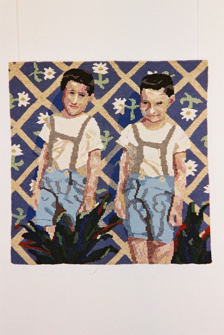 Franc & Josep, 2 Slovenian cousins, were incidentally roughly the same age as my older bro Stan & myself; I visualised a fantasy, folkloric dual portrait.