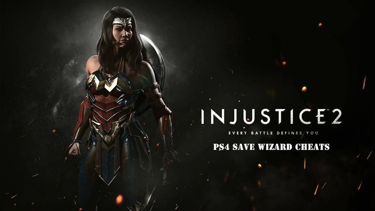 [PS4] Injustice 2 - Max Coins, Guilds, Tokens, Crystals - PS4 Save Wizard