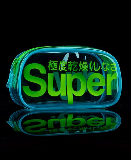Superdry Neon Beauty Bag - Womens Beauty