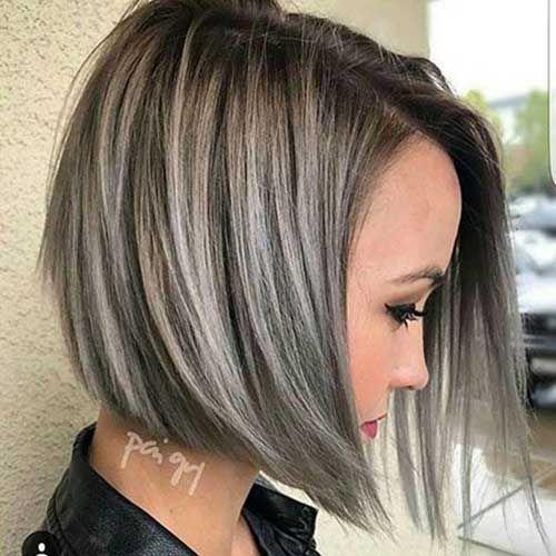 <p> Haarfarbe ist ebenso wichtig wie die frisur, es schmeichelt ihren gesichtszügen, betonen sie die farbe ihrer augen und gibt ihnen ein elegantes aussehen ohne änderung der länge der haare. 1. Asche Gefärbtes Haar mit Highlights Asche farbtöne in der regel heutzutage sehr beliebt und es sieht gut aus auf kurzhaarfrisuren wie diese abgewinkelte bob. […]</p>