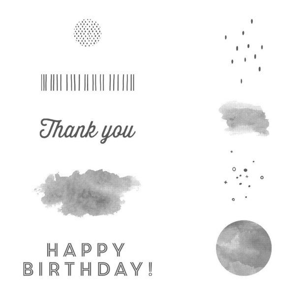 3 New Sale-a-Bration Items | Thank you happy birthday, Stampin ...