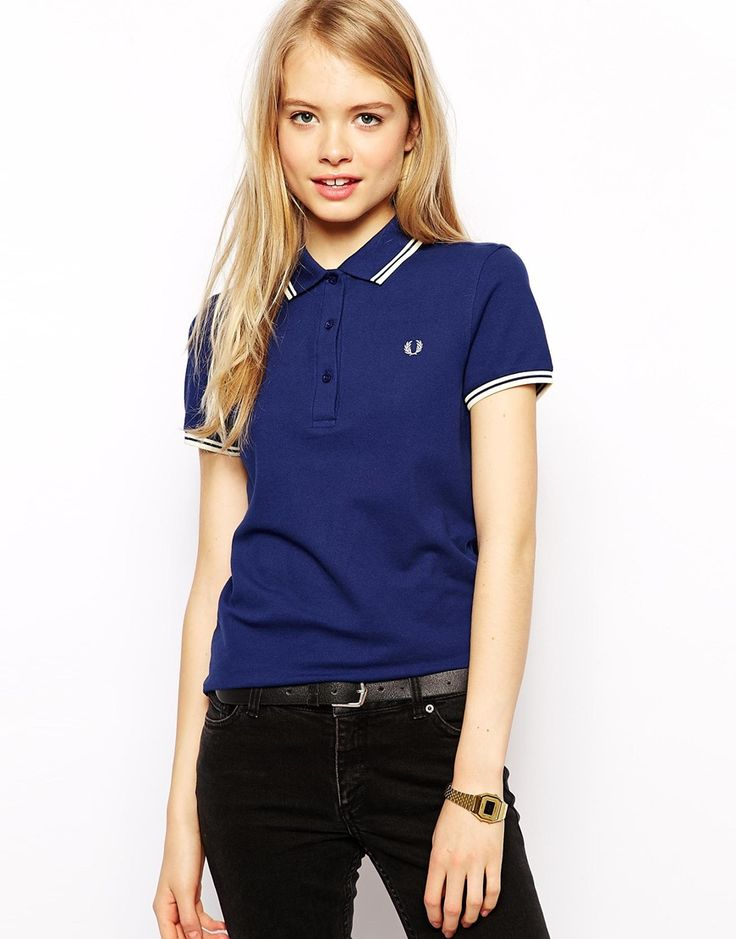 Fred Perry Blue Shoes Ladies