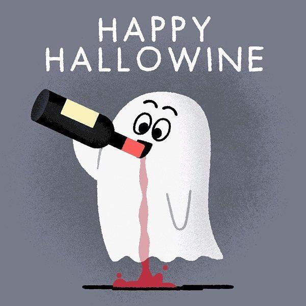 Happy HalloWine!!! #halloween #happyhalloween #hallo #wine #trickortreat
