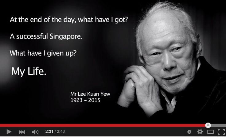 A Tribute to Mr Lee Kuan Yew #LKY #LeeKuanYew #TributeToLeeKuanYew