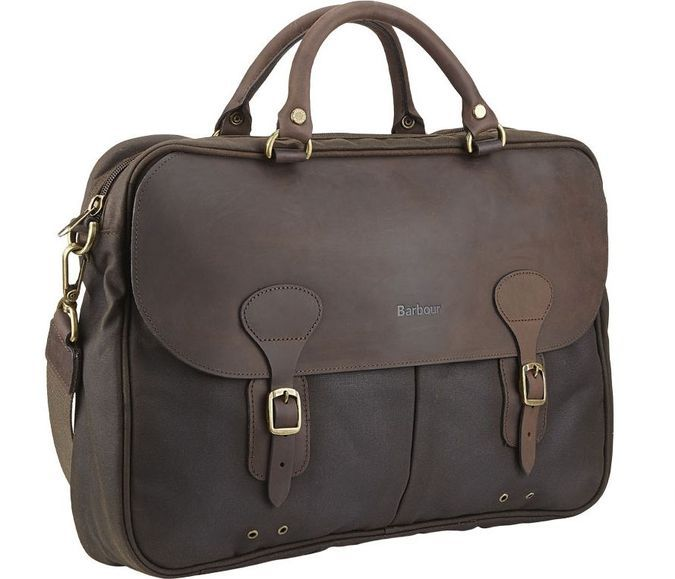 Barbour Wax Leather Briefcase http://coolpile.com/gear-magazine/barbour-wax-leather-briefcase/ - via coolpile.com by @Barbour  #Bag #Barbour #Brass #Cool #Cotton #LaptopBags #Leather #Style #coolpile