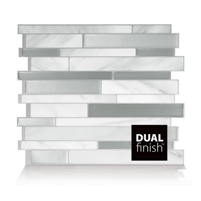 Smart Tiles SM1060-6 Milano Carrera Self Adhesive Wall Tile