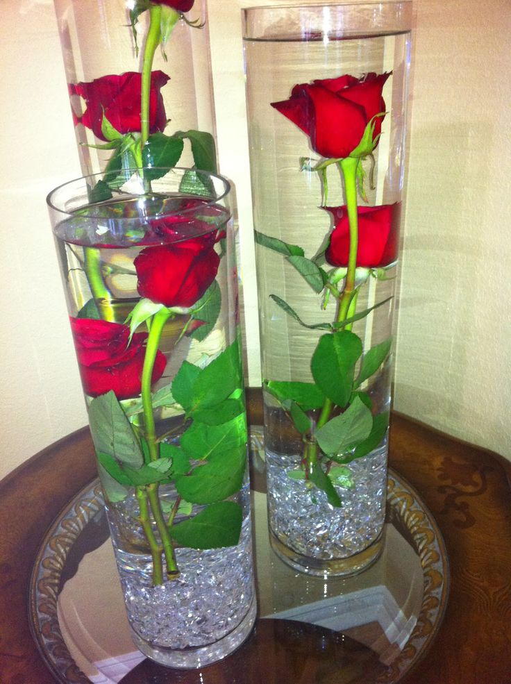 My another attempt to make a Submerged Flower Arrangements ....