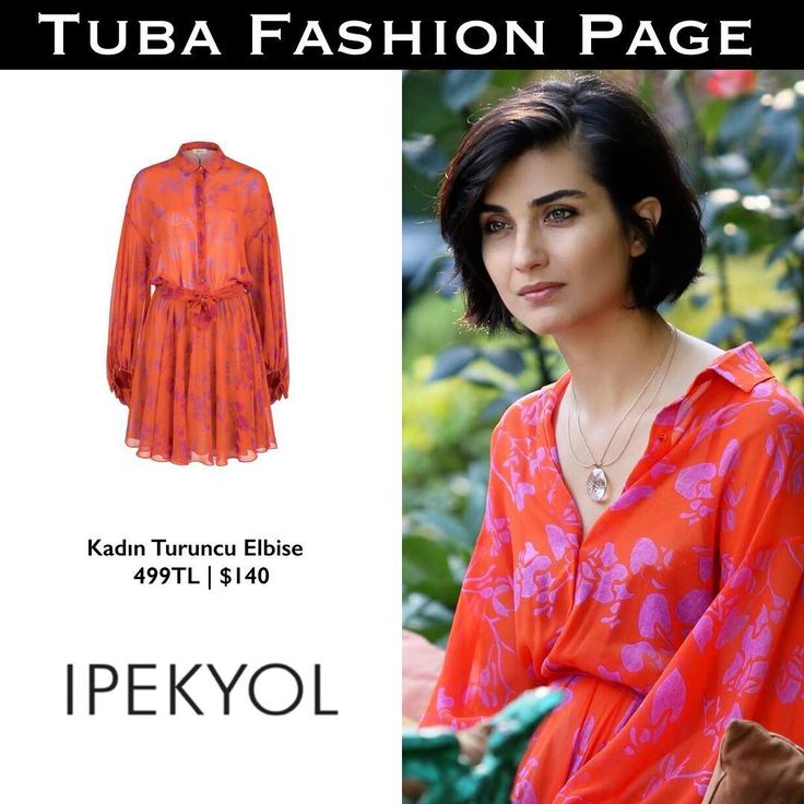 "2,344 Me gusta, 12 comentarios - TUBA FASHION PAGE  (@tuba.fashion) en Instagram: ""#TubaBüyüküstün's Dress by @ipekyoltr | $140 ♥️ -  She looks adorable.. don't miss the final…"""