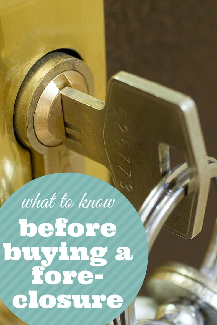 There are some important things to learn before you buy a foreclosed home