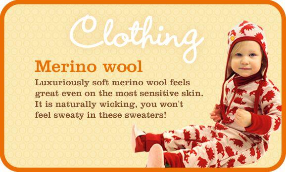 Merino wool clothes