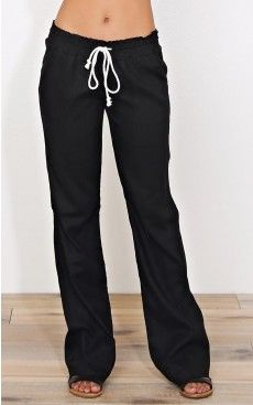 Black Bay Linen Pants