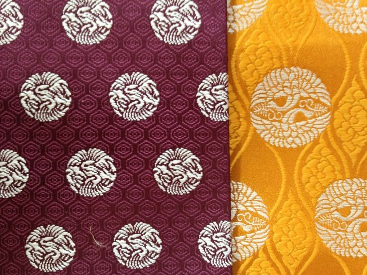Heian patterned fabric.