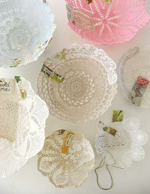 17 Best images about Crafts-Lace/Doilies/Fabric on ...
