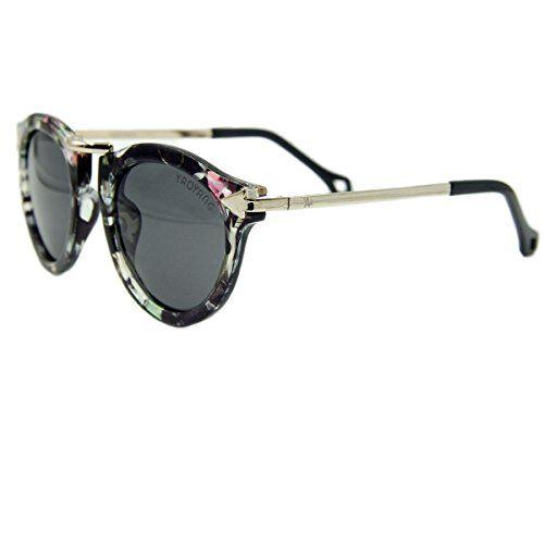 efbd7c4da8d3 Vhccirt Stylish Women Aviator Sunglasses Metal Semi-Rimle... https ...