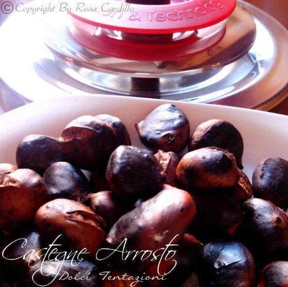 Castagne Arrosto con Magic Cooker