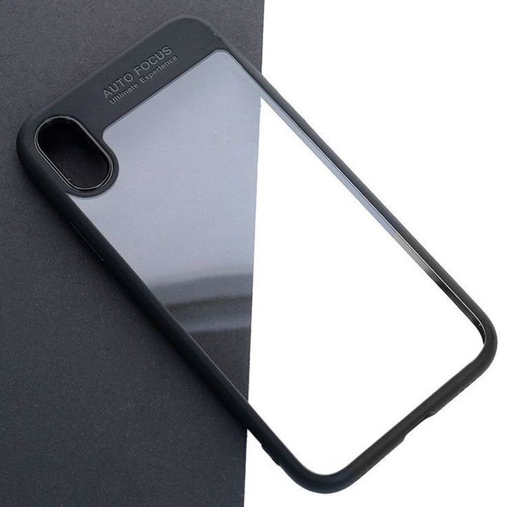 iPhone X Full Protective Smartphone Case Apple Phone TPU Transparent Black Cover #UnbrandedGeneric