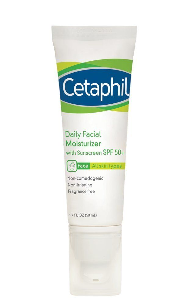 Cetaphil Daily Facial Moisturizer with Sunscreen, SPF 50+ It