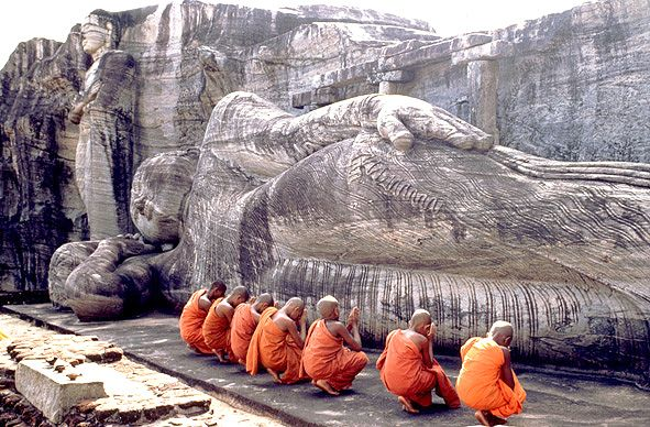 """Sri Lanka. Visited by Annie and Ben in the Season 1 finale, """"When the Levee Breaks."""""""