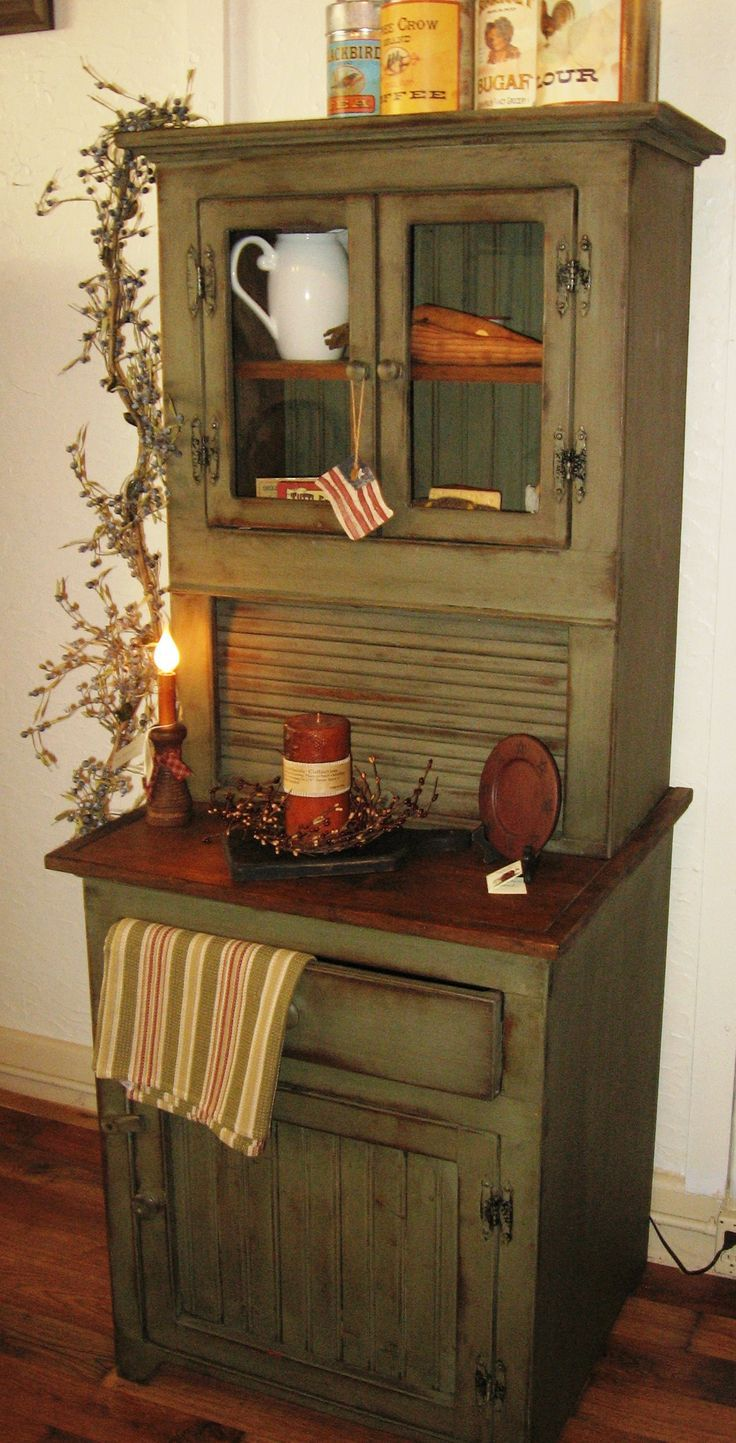 Primitive decor furniture - Find This Pin And More On Furniture