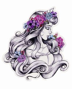 Aurora. Sleeping beauty. Tattoo idea?