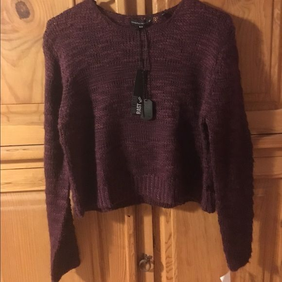 2 items for $30 William Rast Cropped Sweater Brand New Cozy William Rast Cropped Sweater in lovely deep eggplant. **2 for $30 sale: choose any other listing marked 2 for $30 and get them both for $30! Ask for a discounted bundle!** William Rast Sweaters