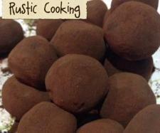 Chocolate Rum Truffles  | Thermomix Homemade Christmas Gifts