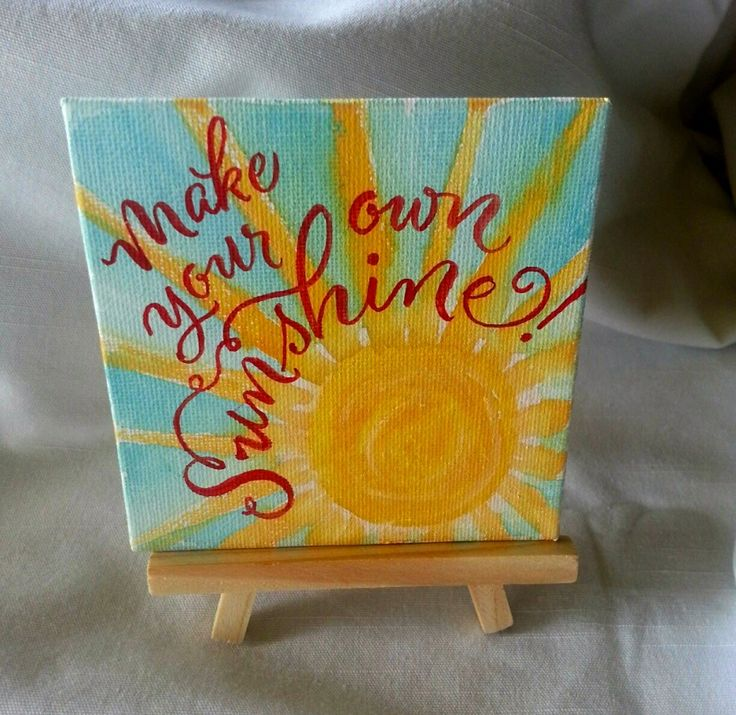 Hand lettering on canvas using Cantoni script font style by Debi Sementelli