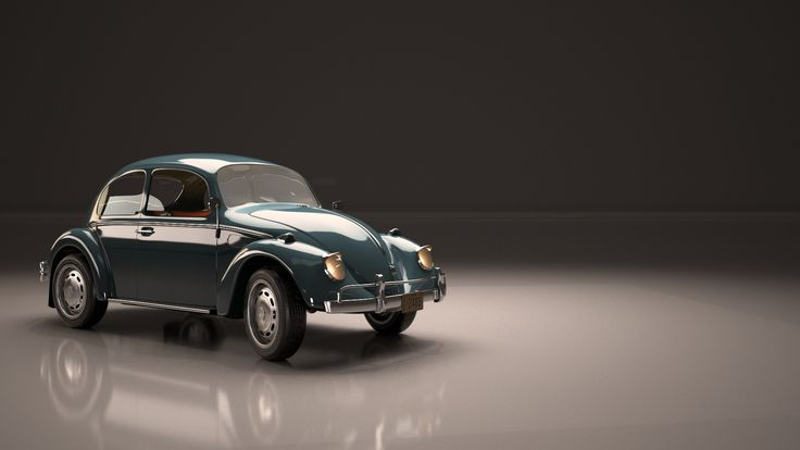 Volkswagen Beetle Classic, Sarp Pekun on ArtStation at https://www.artstation.com/artwork/xvdXX