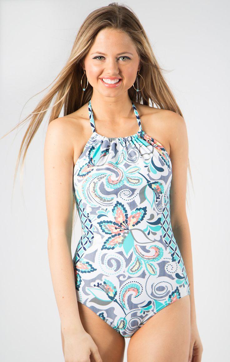 Teen modest swimwear