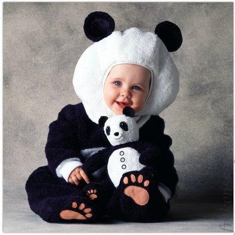 Детские новогодние костюмы панды киев