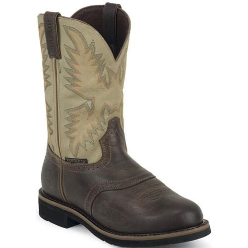 Justin Brown Safety Work Boots