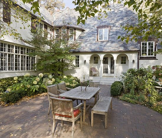 Gorgeous Home Exterior And Backyard Space With Cottage