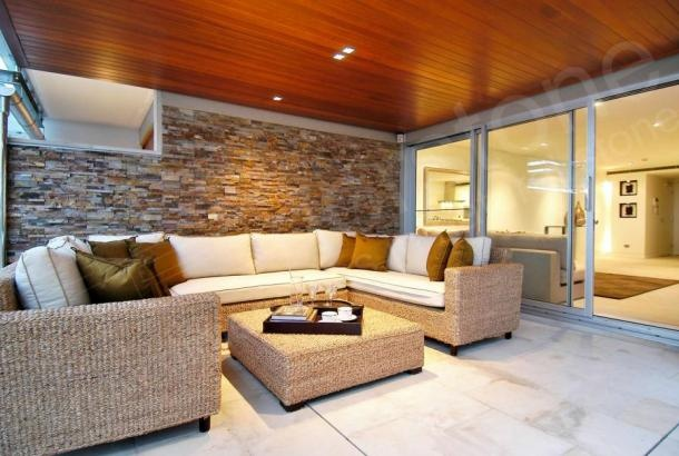 Ochre Rock Panel | Natural Stacked Stone Veneer for Wall Cladding- Fireplace update