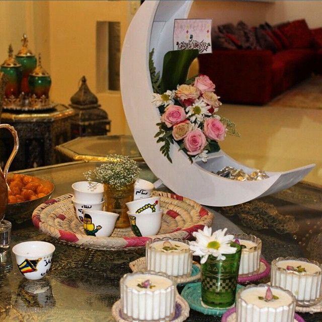 تقديمات مميزة وراقيه جدا On Instagram Ramadan Crafts Ramadan Decorations Eid Mubarak Decoration