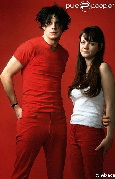 Meg White et Jack White des White Stripes - Photos